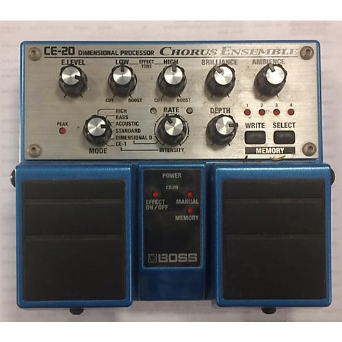 Boss CE20 Chorus Ensemble Effect Pedal