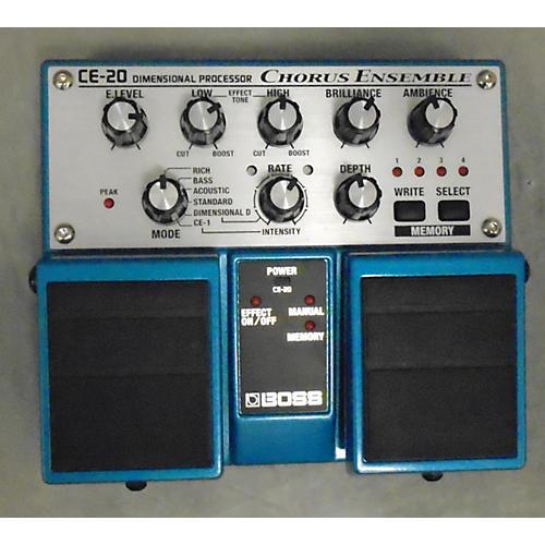 Boss CE20 Chorus Ensemble Effect Pedal-thumbnail