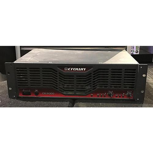 Crown CE2000 Power Amp-thumbnail