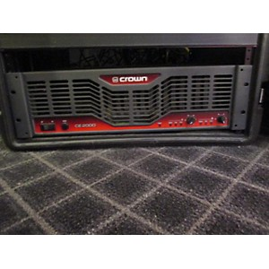 Pre-owned Crown CE2000 Power Amp by Crown
