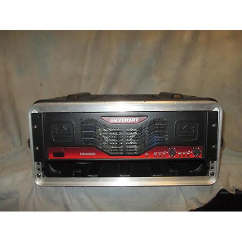 Crown CE4000 Power Amp-thumbnail