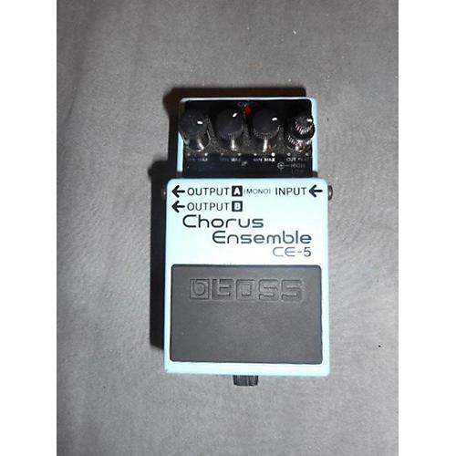 Boss CE5 Chorus Ensemble Blue Effect Pedal-thumbnail