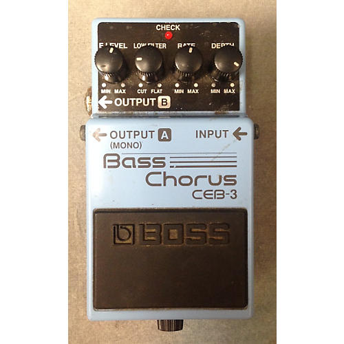 Boss CEB3 Bass Chorus Bass Effect Pedal