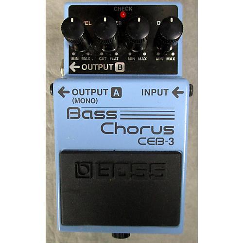 Boss CEB3 Bass Chorus Bass Effect Pedal-thumbnail