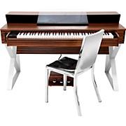 Suzuki CENTER Desk Digital Piano System with Hi Polish Aluminum Chair