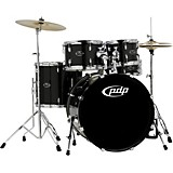 CENTERstage 5-Piece Drum Set with Hardware and Cymbals Onyx