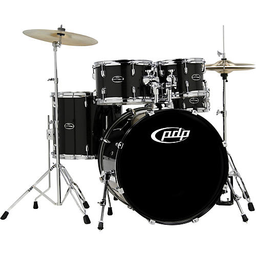 PDP CENTERstage 5-piece Drum Set with Hardware and Cymbals Onyx