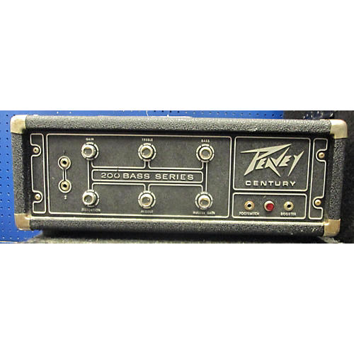Peavey CENTURY POWER PAK BASS 200 Bass Amp Head