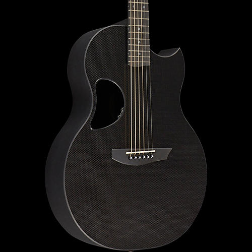 Kevin Michael Carbon Fiber Guitars CF-SABLE Extended Range Acoustic-Electric Guitar High Gloss Natural
