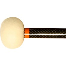 Black Swamp Percussion CF4 Carbon Fiber Timpani Mallets Legato (Orange)