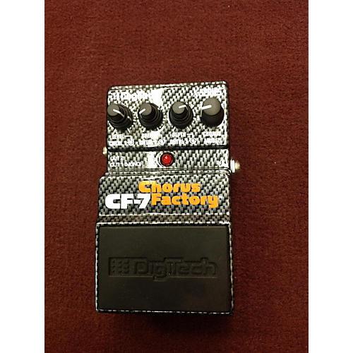 Digitech CF7 Chorus Factory Effect Pedal-thumbnail