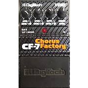 Digitech CF7 Chorus Factory Effect Pedal