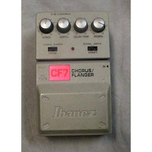 Ibanez CF7 Chorus Flanger Effect Pedal-thumbnail