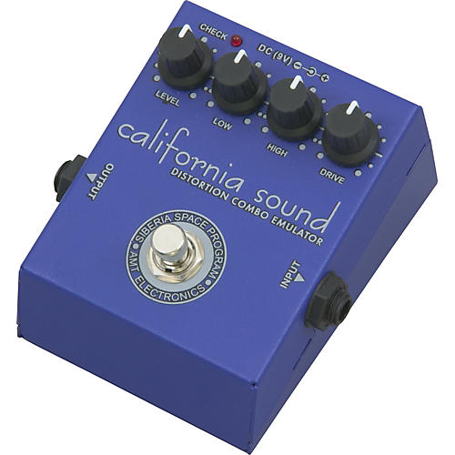 AMT Electronics CFS California Sound Distortion Guitar Effects Pedal