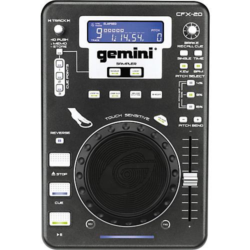 Gemini CFX-20 Professional FX Tabletop DJ CD Player