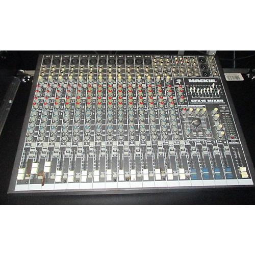 Mackie CFX16 Unpowered Mixer-thumbnail