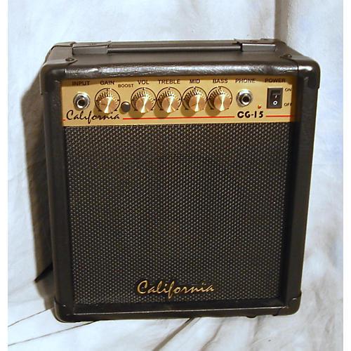 In Store Used CG-15 Guitar Combo Amp