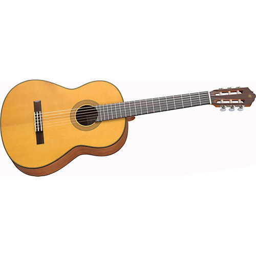Yamaha CG122MS Matte Finish Spruce Top Classical Guitar Natural