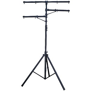 CHAUVET DJ CH-02 Aluminum Stand with T-Bar and 2 Arms by Chauvet DJ