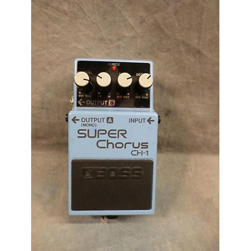 Boss CH1 Super Chorus Effect Pedal