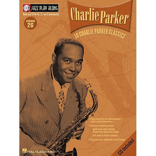 Hal Leonard CHARLIE PARKER - JAZZ PLAY-ALONG VOLUME 26 BK/CD