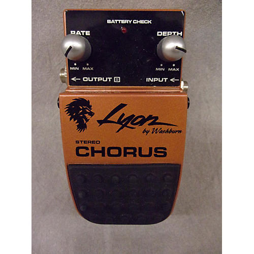 In Store Used CHORUS Effect Pedal-thumbnail