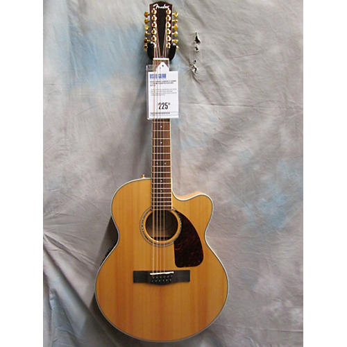 Fender CJ290SCE12 Jumbo 12 String Acoustic Electric Guitar
