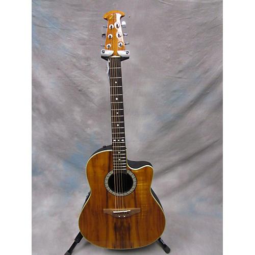 Ovation CK047-Fkoa Celebrity Acoustic Electric Guitar
