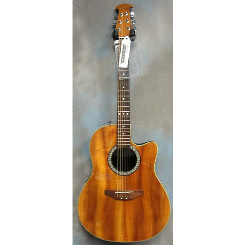 Ovation CK 047 Koa-Top Acoustic-Electric Demo/Review - YouTube