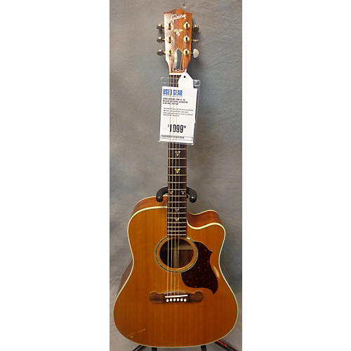 Gibson CL-35 Deluxe Natural Acoustic Electric Guitar Natural