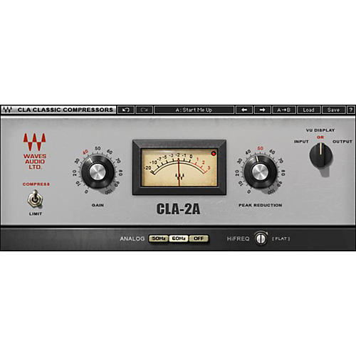 Waves CLA-2A Compressor / Limiter Native/TDM/SG Software Download