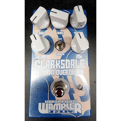 Wampler CLARKSDALE OVERDRIVE Effect Pedal-thumbnail