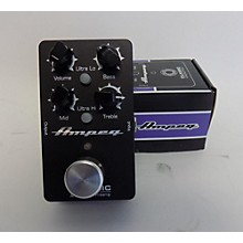 Ampeg CLASSIC ANALOG BASS PREAMP Bass Effect Pedal