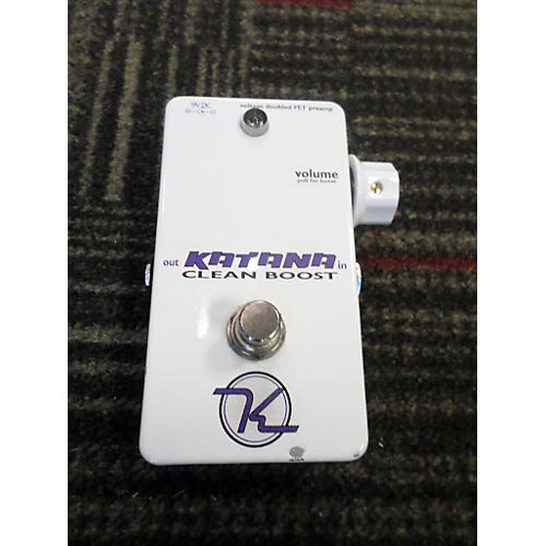 In Store Used CLEAN BOOST Effect Pedal