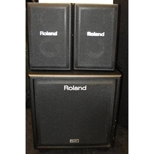 Roland CM110 100W 2.1 Cube Drum Amplifier-thumbnail