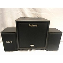 Roland CM110 100W 2.1 Cube Drum Amplifier