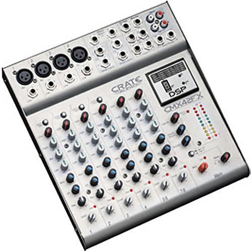Crate CM42FX 12-Channel Mixer w/FX Factory