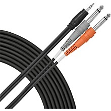"Livewire CMP1515 3.5mm (TRS)-Dual 1/4"" Y Cable - 15'"