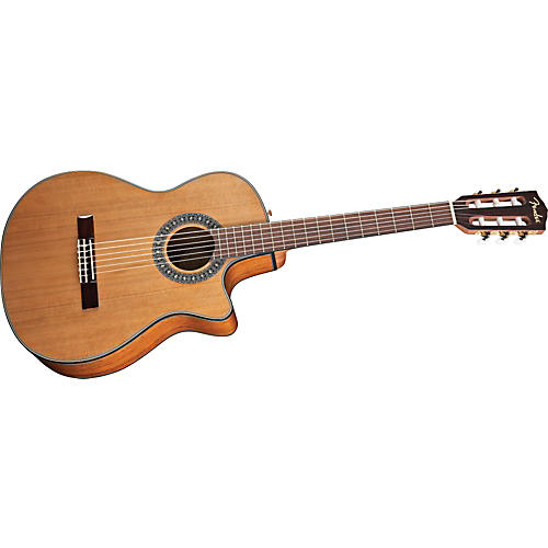 Fender CN-240SCE Acoustic-Electric Classical Guitar