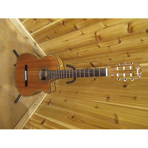 Fender CN-240SCE Thinline Classical Acoustic Electric Guitar-thumbnail