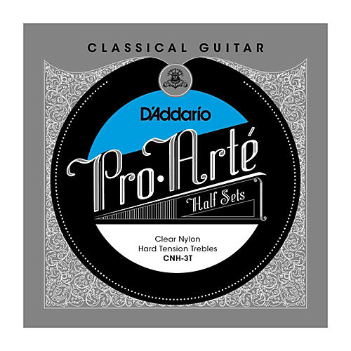 D'Addario CNH-3T Pro-Arte Hard Tension Classical Guitar Strings Half Set