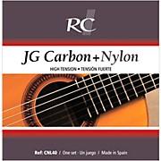 RC Strings CNL40 JG Carbon + Nylon High Tension Nylon Guitar Strings with Carbon 2nd  & 3rd.