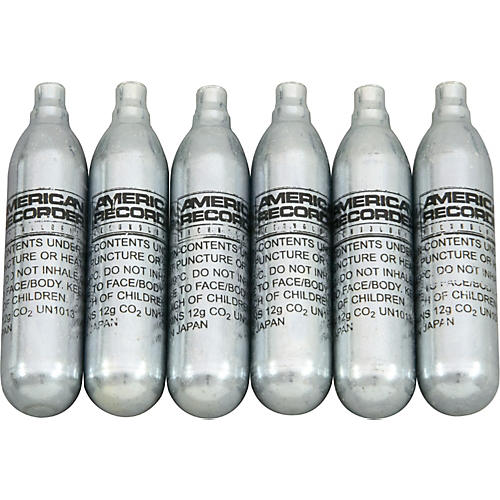 Liemar Technologies CO-2 Replacement Cylinders 6 Pack