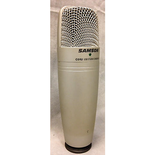 Samson CO1U Silver USB Microphone
