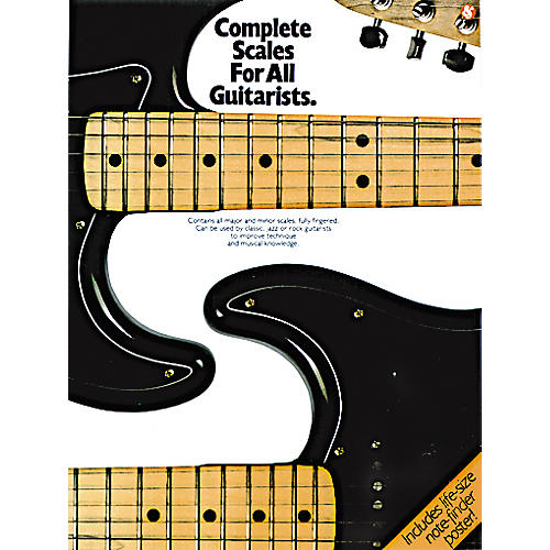 Music Sales COMPLETE SCALES FOR ALL GUITARISTS-thumbnail