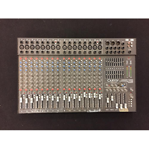 Carvin CONCERT SERIES C1600 Unpowered Mixer