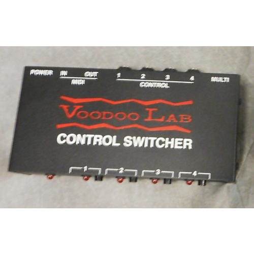 Voodoo Lab CONTROL SWITCHER Effect Pedal-thumbnail