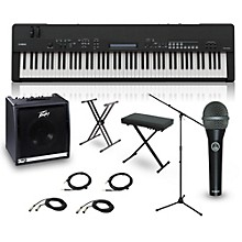 Yamaha CP40 STAGE 88-Key Complete Stage Piano Package
