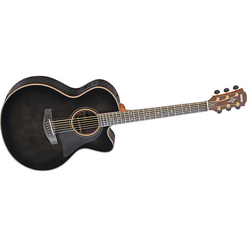 Yamaha CPX1200 Medium-Jumbo Cutaway Acoustic-Electric Guitar with SRT Preamp-thumbnail