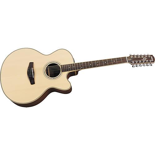 Yamaha CPX700-12 Cutaway Acoustic-Electric 12-String Guitar-thumbnail